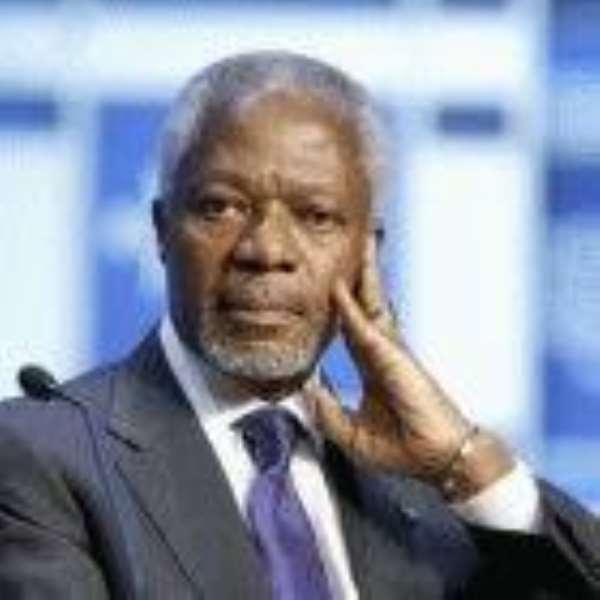 'Annan Must Not Vie For Prez' - Antwi-Danso Declares